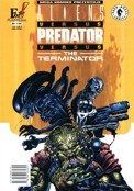 "[""Mega Komiks"" 1/2002: ""Aliens vs Predator vs The Terminator""]"