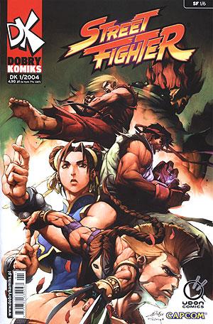Street Fighter - komiks 1-6 [.CBR][PL]
